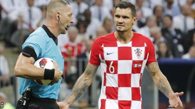 Croatia defender Dejan Lovren