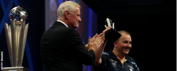 Barry Hearn and Phil Taylor