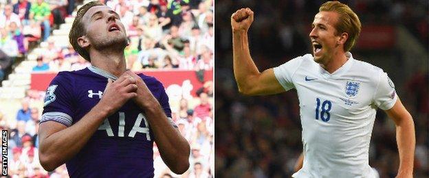 Harry Kane, Tottenham and England