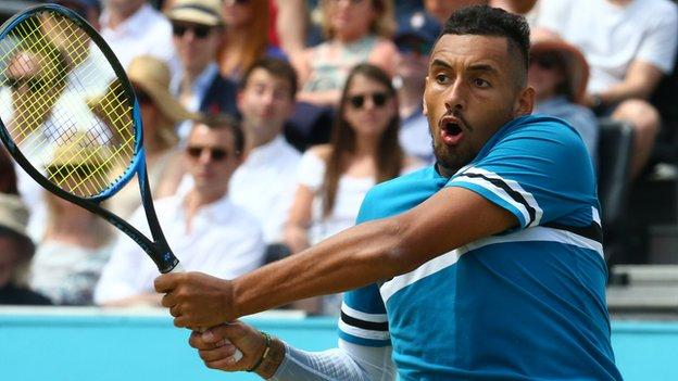 Queen's: Nick Kyrgios wants to emulate Andy Murray at Fever-Tree Championships thumbnail