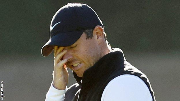 McIlroy carded just three little birds in 36 holes at the Riviera County Club