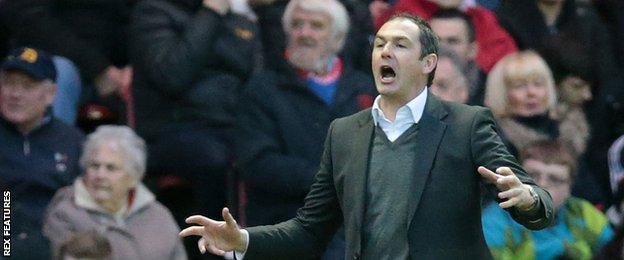 Derby head coach Paul Clement