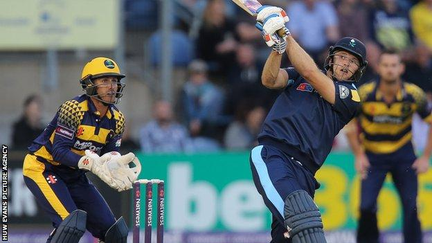 David Willey hit 79 in Yorkshire's win over Glamorgan