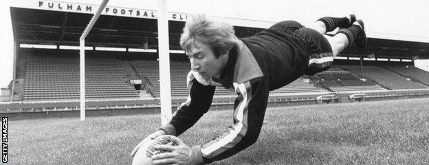 Reg Bowden of Fulham Rugby League Club