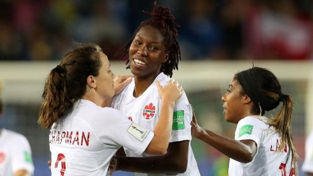 Women's World Cup: Canada 1-0 Cameroon