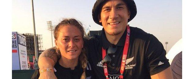 Sonny Bill Williams and sister Niall