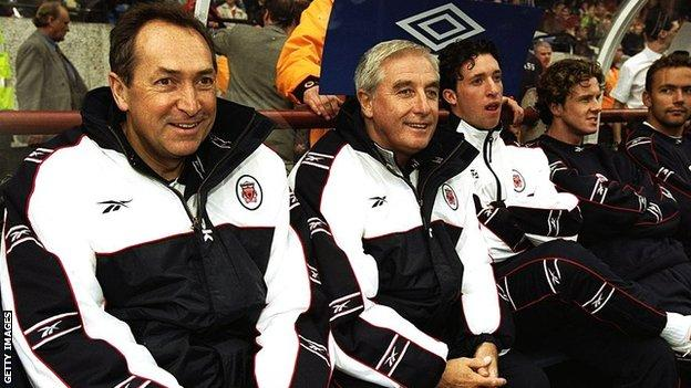 Gerard Houllier and Roy Evans