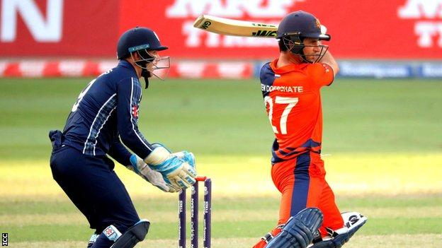 Ryan ten Doeschate top scored with 51 for the Netherlands