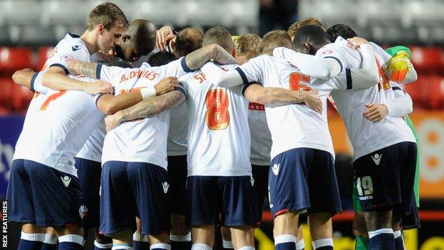 Bolton players