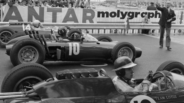 Graham Hill and Jim Clark