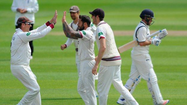 Peter Trego was to follow up his removal of Ian Bell with his second 50 of the match