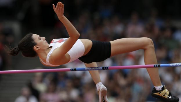 World Champion high jumper Mariya Lasitskene criticises Russian Athletics over doping thumbnail
