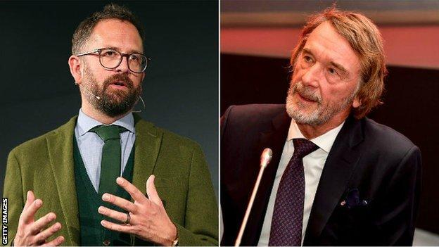 "Vaughters (left) believes Ratcliffe wants to ""buy dominance"""
