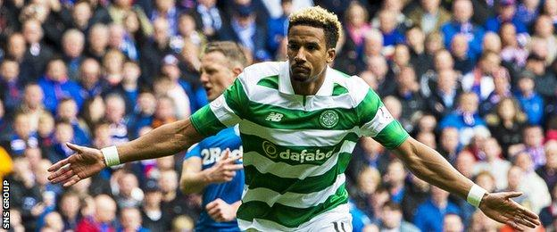 Scott Sinclair shot Celtic into an early lead from the penalty spot