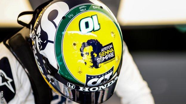 Pierre Gasly's Ayrton Senna