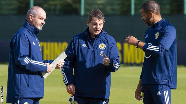 Steve Clarke names his squad for the Israel play-off on Tuesday
