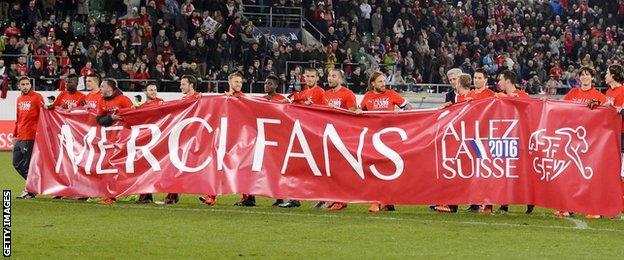 Switzerland team