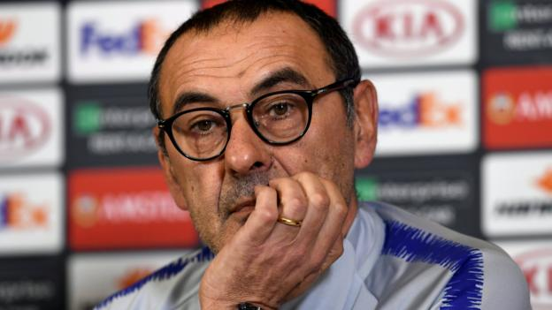 Maurizio Sarri: Chelsea manager says winning is 'only solution' thumbnail