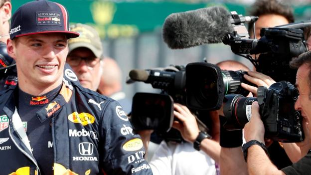 Max Verstappen takes first career pole position in Hungary thumbnail