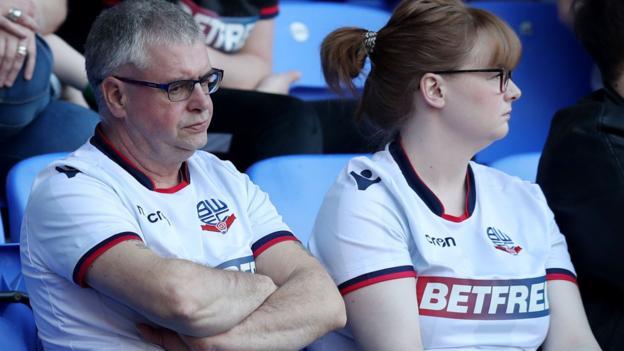 Bolton 0-2 Aston Villa: Wanderers relegated from Championship as Villa equal club record thumbnail