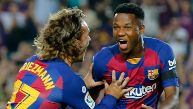 Ansu Fati: Who is Barcelona 16-year-old with 100m euro release clause?