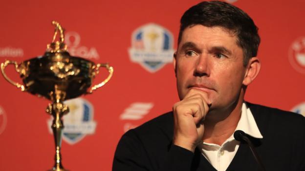 Ryder Cup 2020: Padraig Harrington suggests neutral venues
