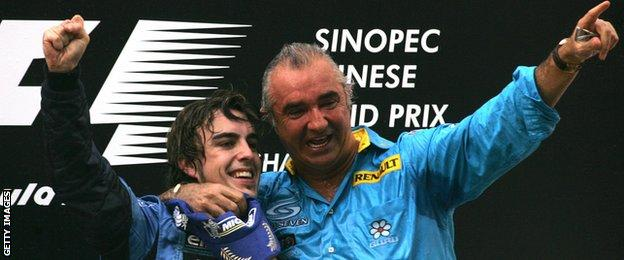 Fernando Alonso and Renault