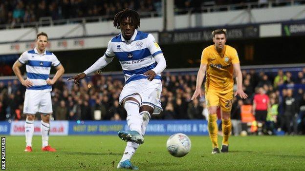 Eze has netted nine goals this season