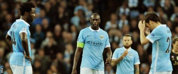 Manchester City have never won their opening home game in the CL group stage