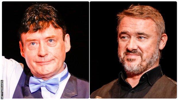 Jimmy White & Stephen Hendry