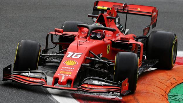 Italian GP: Charles Leclerc tops second practice thumbnail