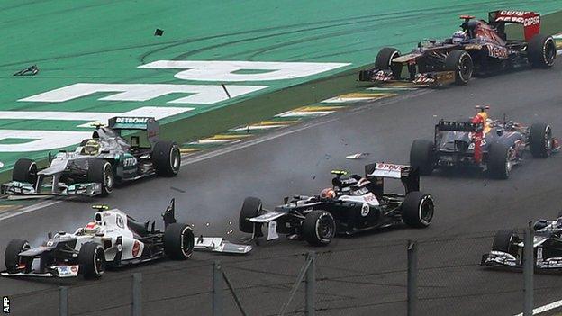 Vettel Brazil 2012