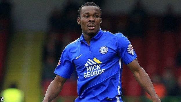 Peterborough forward Souleymane Coulibaly