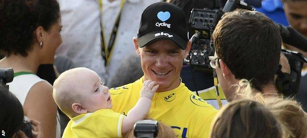 Froome and Kellan
