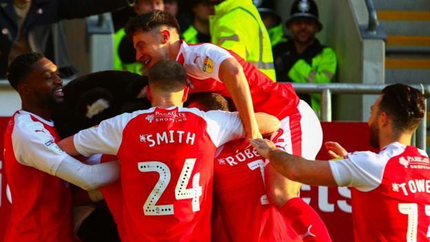 47f2fbb90d5 Rotherham United 2-2 Sheffield United: Jamie Proctor strike denies Blades  top spot - BBC Sport