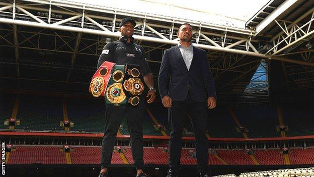 Joshua to defend titles against Pulev in December thumbnail