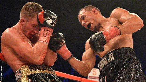Nick Blackwell fights Chris Eubank Jr