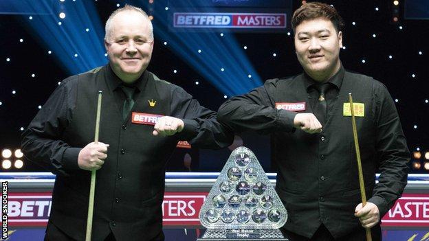 John Higgins and Yan Bingtao