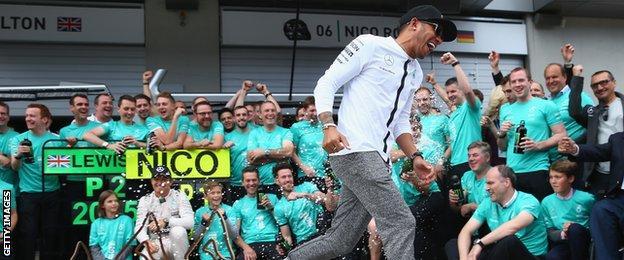 Lewis Hamilton after the Austrian Grand Prix