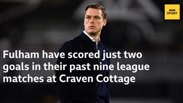 Fulham have scored just two goals in their past nine league matches at Craven Cottage