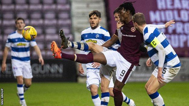 Morton earned a share of the points on their last visit to Tynecastle