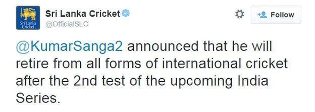 Sri Lanka Cricket on Twitter