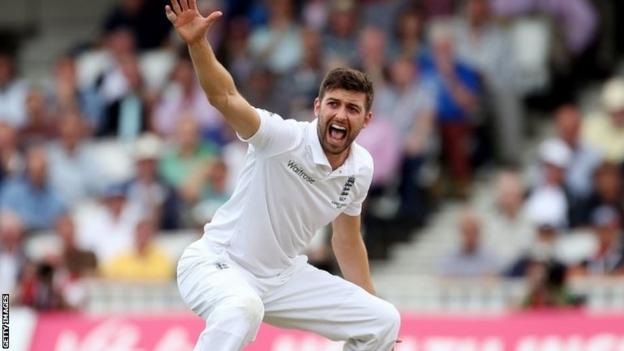 England cricketer Mark Wood