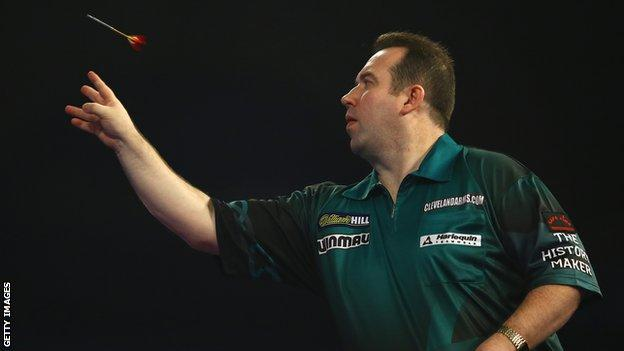 Brendan Dolan had a match average of 87.19 in his defeat in London