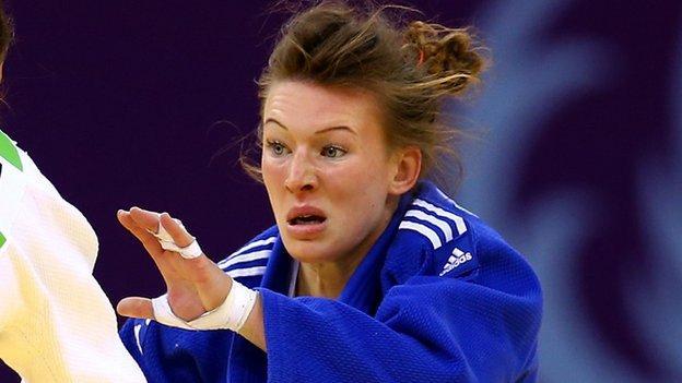 Judoka Kelly Edwards