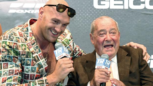 Tyson Fury v Deontay Wilder: Promoter Bob Arum 'can't fathom' why rematch is not next bout thumbnail