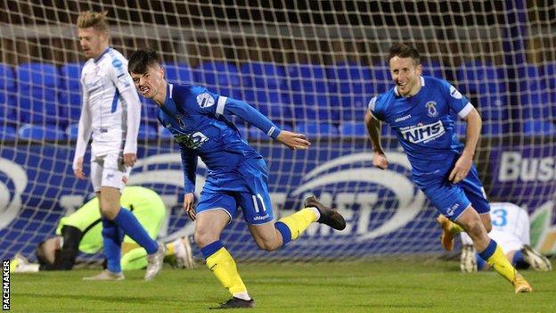 Irish Premiership: Dungannon Swifts beat Coleraine at Stangmore Park - BBC  Sport