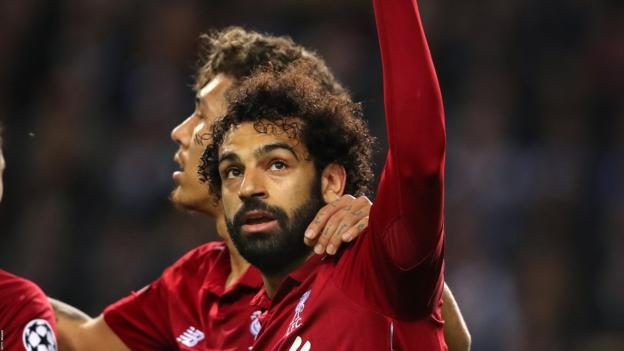 FC Porto 1-4 Liverpool: Comfortable win sets up Barcelona showdown