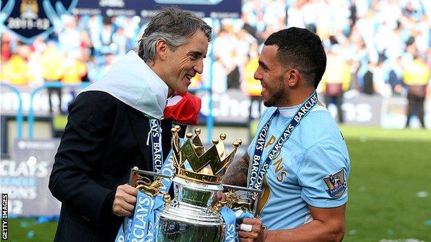 Former Manchester City boss Roberto Mancini
