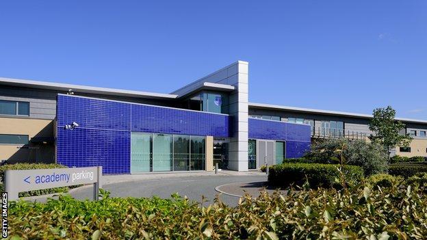Everton's Finch Farm training ground